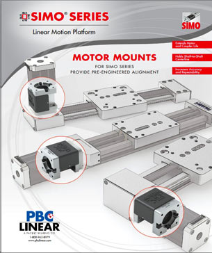 PBC Linear SIMO Series Motor Mounts