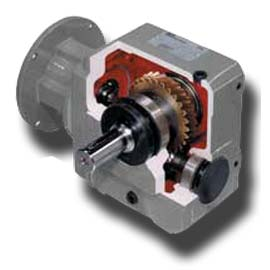 S-series right angle helical-worm gearboxes