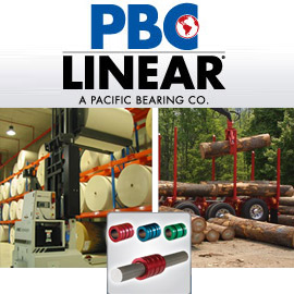 PBC Linear Round Shat Technology, Linear Bearings