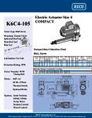 K6C4-105 RACO Series Actuators Brochure