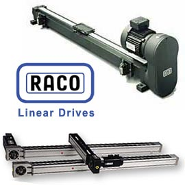 Raco International's ACME or Ball Screw Driven, & Belt Driven Linear Drives