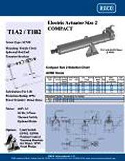 T1A2 and T1B2 RACO Series Actuators Brochure