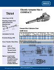T6A4 RACO Series Actuators Brochure