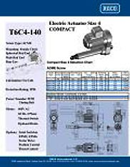 T6C4-140 RACO Series Actuators Brochure