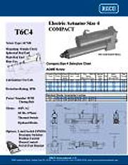 T6C4 RACO Series Actuators Brochure