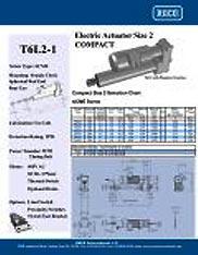T6L2-1 RACO Series Actuators Brochure