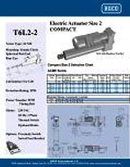 T6L2-2 RACO Series Actuators Brochure