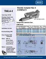T6L4 RACO Series Actuators Brochure