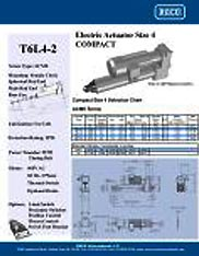 T6L4-2 RACO Series Actuators Brochure