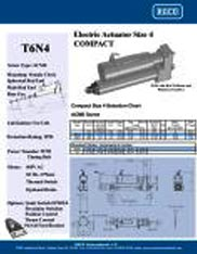 T6N4 RACO Series Actuators Brochure