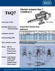 T6Q7 RACO Series Actuators Brochure